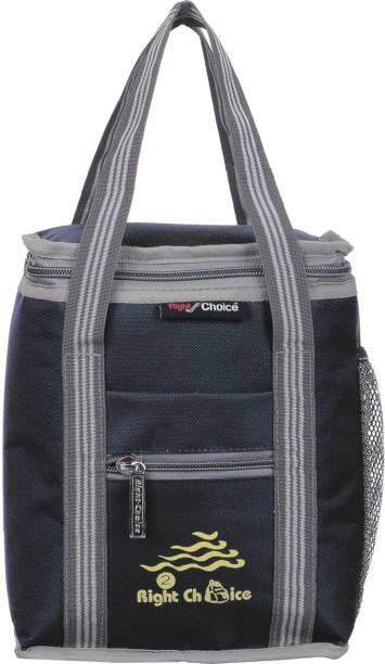 RIGHT CHOICE office tiffin bag for all men women boys & girls stylish lunch bag handbag BLACK GREY (3006) Waterproof Lunch Bag