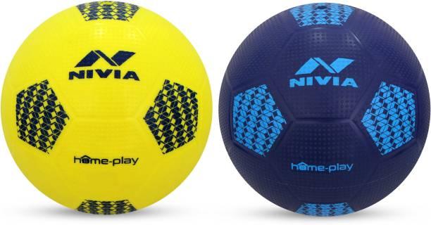 Nivia HOME PLAY Football   Size: 1