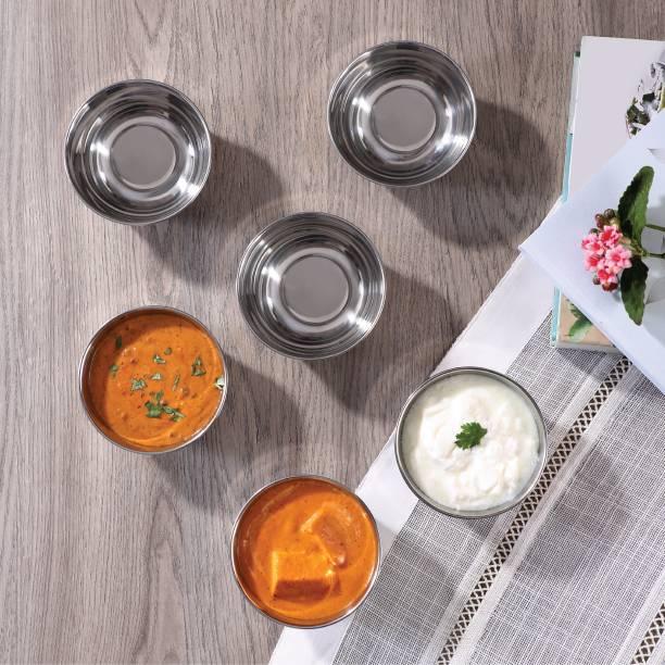 Jindal ARC Marvel Katori - Set of 6 Stainless Steel Vegetable Bowl