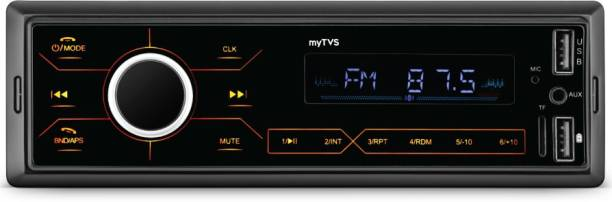 MYTVS Touch Screen Dual USB Single Din MP3 Car Media Player Touch Stereo Car Stereo