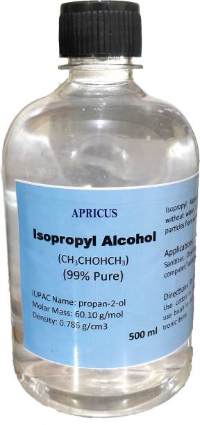 apricus IsoPropyl Alcohol (99% Pure) for Laptops, Computers, Mobiles, Gaming