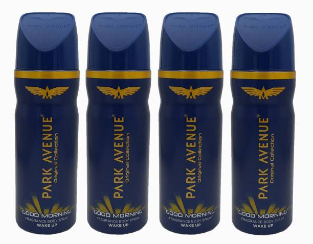 PARK AVENUE Good Morning Deodorant Combo Pack of 4 Deodorant Spray  -  For Men