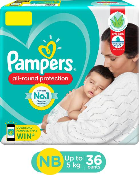 Pampers Pant Style Diapers New Born - 36 Pieces - New Born