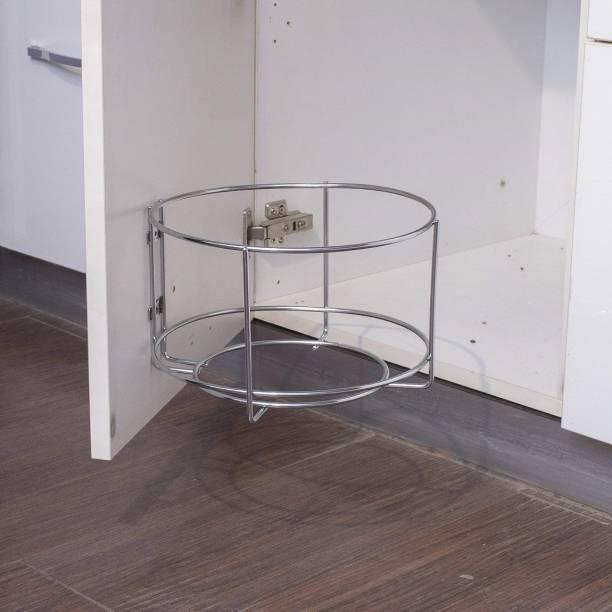 UPTOP Stainless steel Bin holder   Dustbin holder   Waste bin holder   Garbage bin holder for Kitchen and Bathroom Steel Dustbin