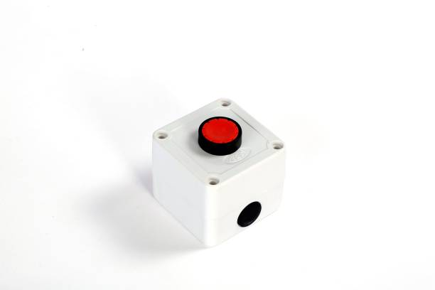 SRP CRANE SRP Plastic Unbreakable 1 way with Push Button Switch Unit 10 A One Way Electrical Switch