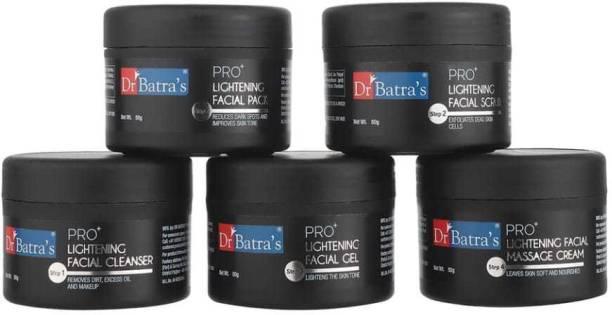Dr. Batra's PRO+ Lightening Facial Kit Formulated By Dermatologists