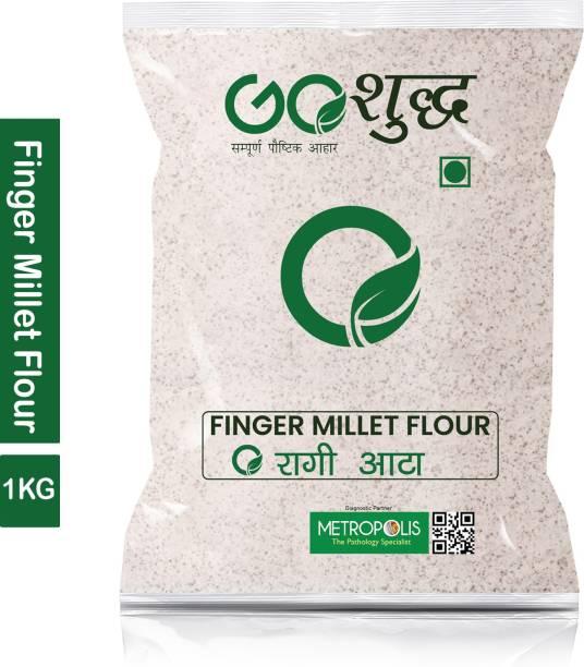 Goshudh Premium Quality Ragi Atta/Finger Millet Flour-1Kg
