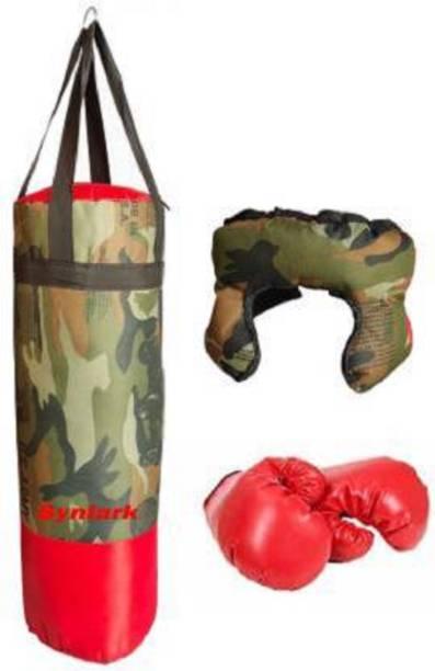JAMEN BORO Boxing Kit with Punching Bag for Kids 3 to 9 Years Boxing Kit Boxing Kit Boxing Kit
