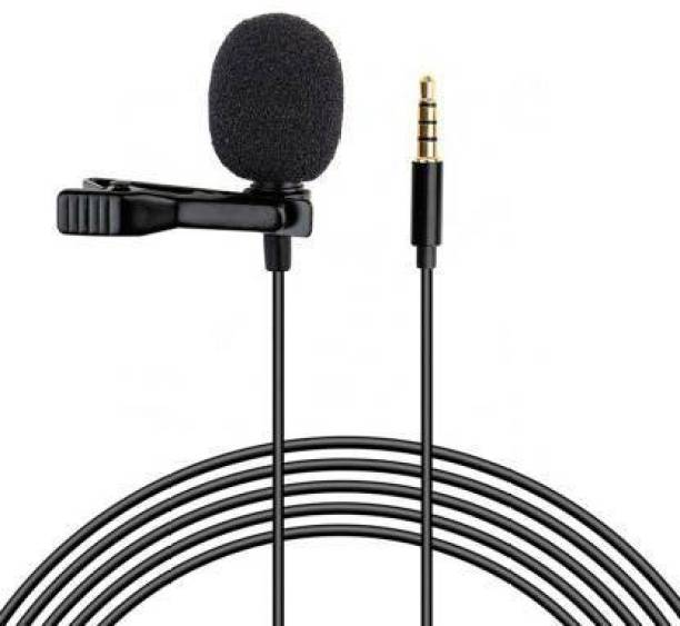 Miraaz High Quality 3.5mm Clip Microphone For Youtube   CALLER Mike for Voice Recording   Lapel Mic Mobile, PC, Laptop, Android Smartphones, DSLR Camera Microphone CABLE