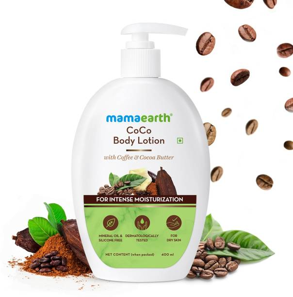 MamaEarth Body Lotion With Coffee and Cocoa for Intense Moisturization