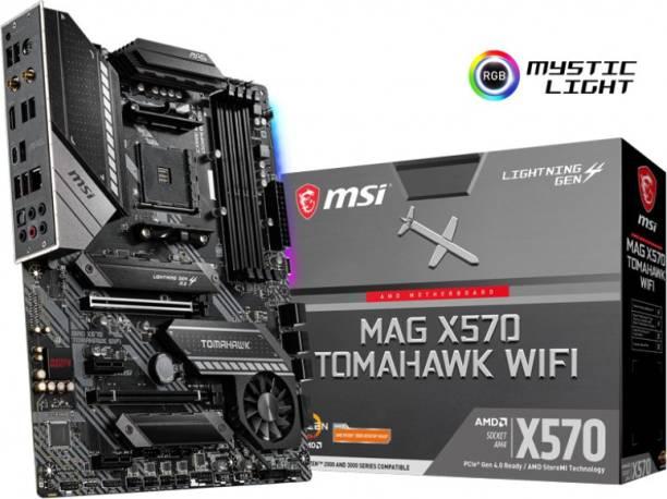 MSI MAG X570 TOMAHAWK WIFI ATX AM4 Gaming Motherboard