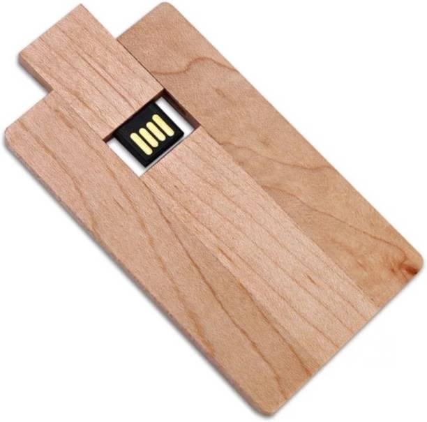 EO Wooden Card Pen Drive 32 GB Pen Drive