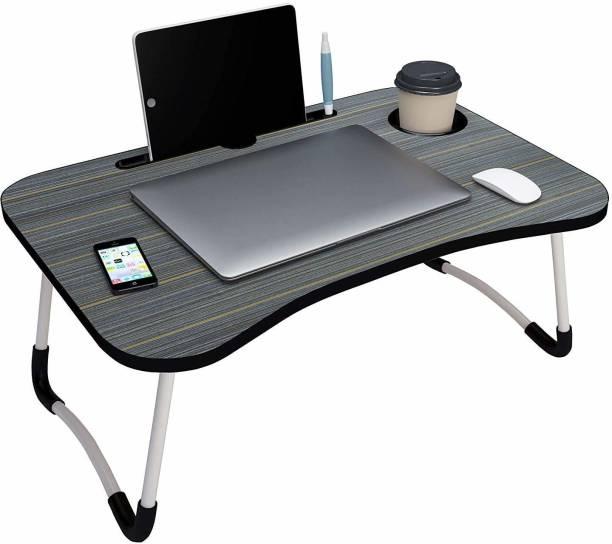SHOPFLICKS MART Wood Portable Laptop Table