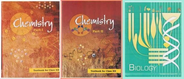 Ncert Biology,Chemistry Class 12 (Set Of 3 Books) (Paperback, NCERT)