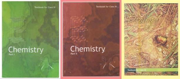 Ncert Biology Chemistry Class 11 (Set Of 3 Books) (Paperback, NCERT)