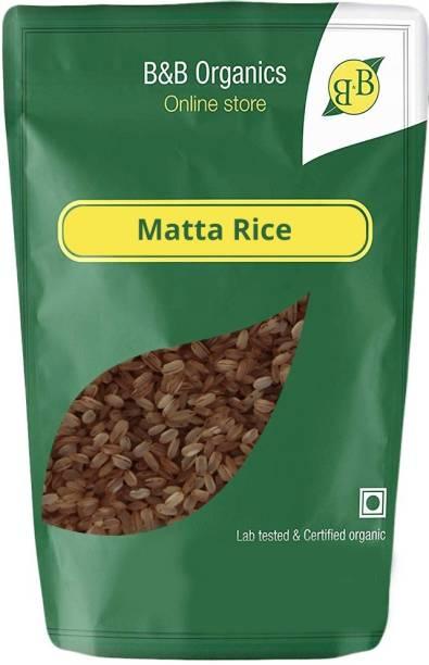 B&B Organics Par-Boiled Matta Brown Boiled Rice (Medium Grain)