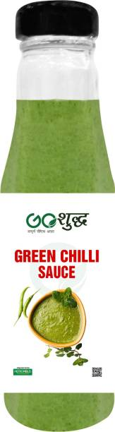 Goshudh Premium Quality Green Chilli Sauce-200gm (Pack Of 1) Sauce