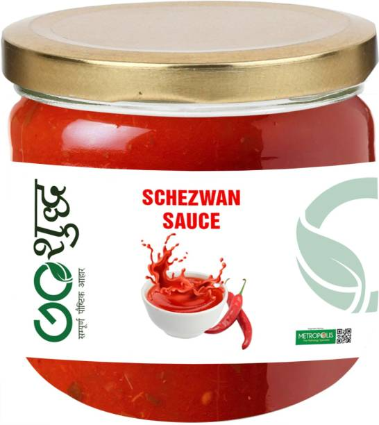 Goshudh Premium Quality Sichuan/Schezwan Sauce-300gm (Pack Of 1) Sauce