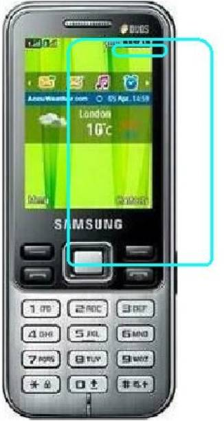 DARSHILGOLBE Edge To Edge Tempered Glass for Samsung Metro Duos C3322