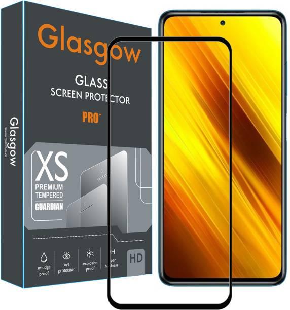 Glasgow Edge To Edge Tempered Glass for Poco X3