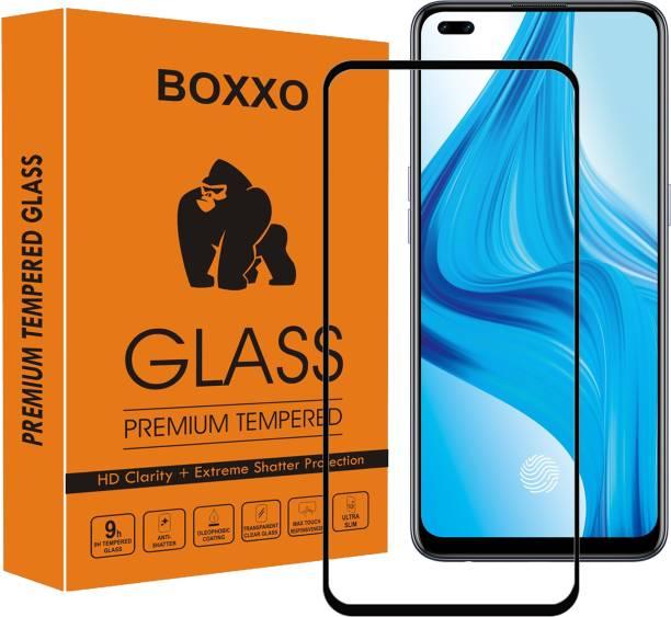 Boxxo Edge To Edge Tempered Glass for Oppo F17 Pro