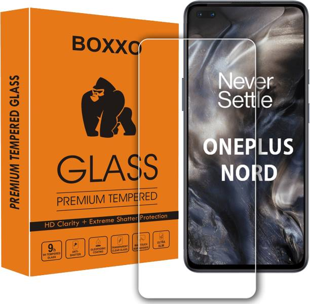 Boxxo Tempered Glass Guard for OnePlus Nord