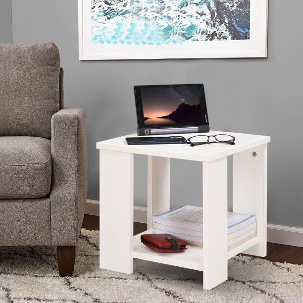 Flipkart Perfect Homes Studio Multipurpose Bed / Sofa Side Table Engineered Wood Bedside Table