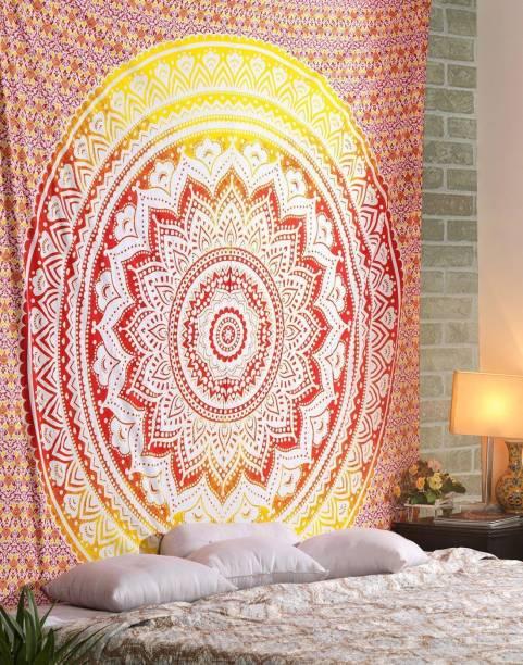 Heyrumbh Handicrafts Boho Bohemian Mandala Tapestry