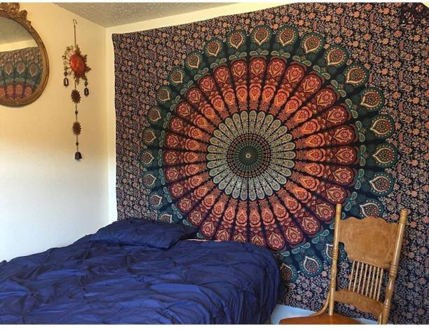 Sohibe Mandala Hippie Mandala Wall Decoration Bedspread Bedcover Room Dorm Tapestry
