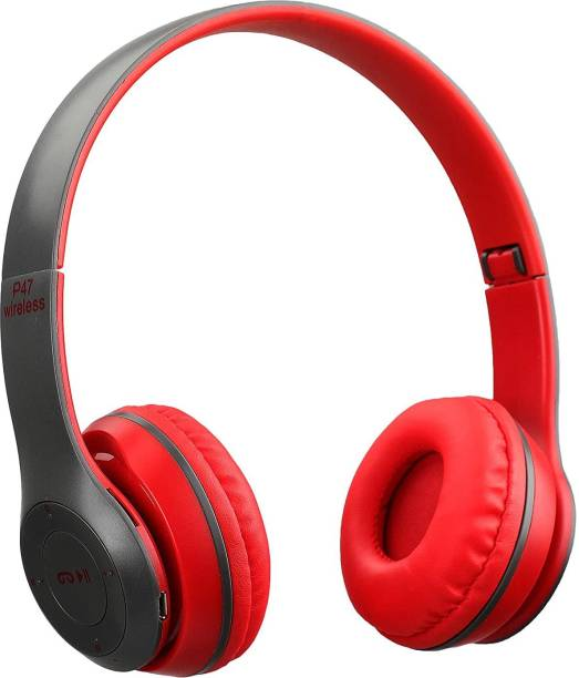 ZEPAD Wireless Bluetooth Headphone with Mic and FM SD CARD SLOT Bluetooth Headset