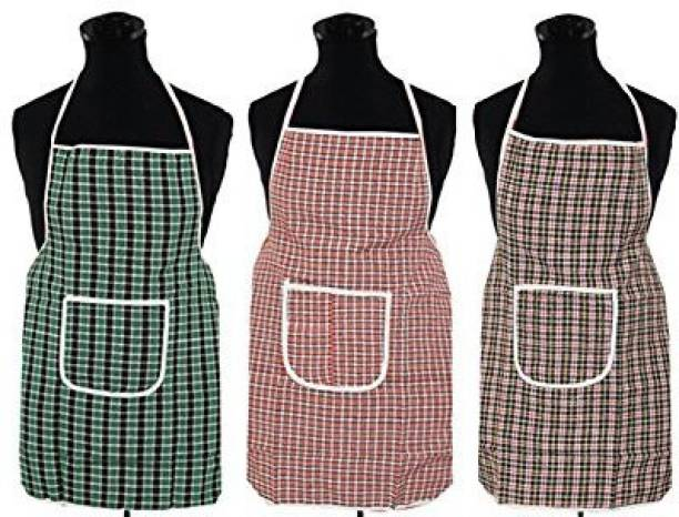 Fabfurn Cotton Home Use Apron - Free Size