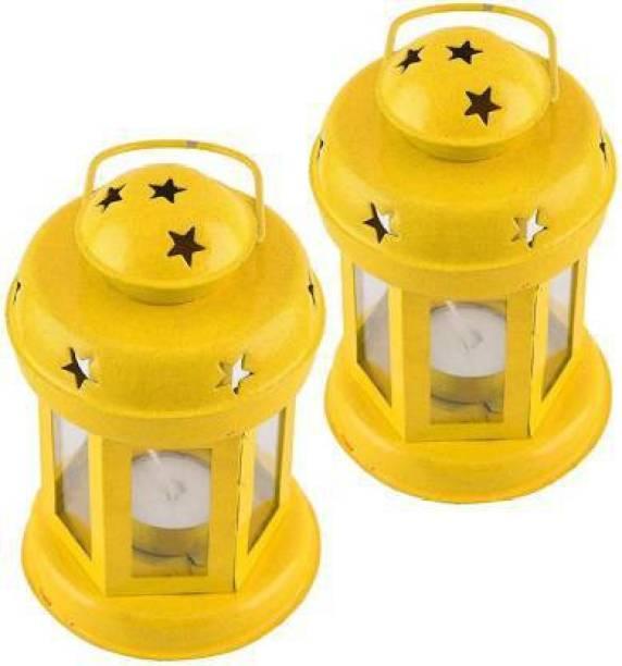 Lasmo Iron Tealight Holder Set