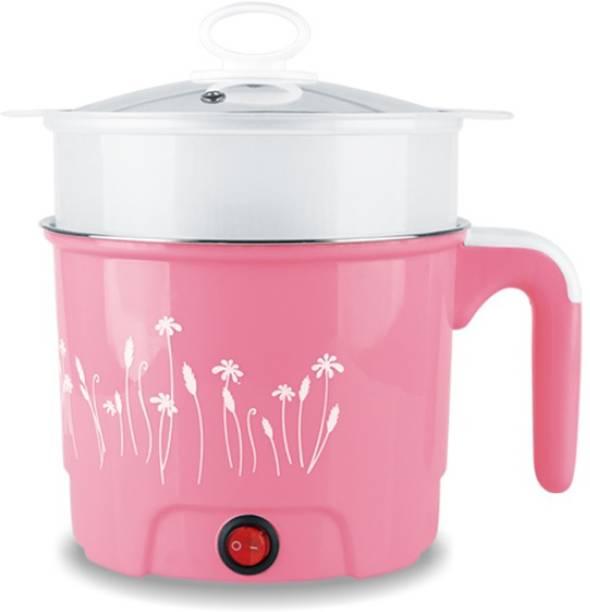Adonai POT1.5LPINK Rice Cooker, Food Steamer, Travel Cooker, Slow Cooker, Electric Pressure Cooker