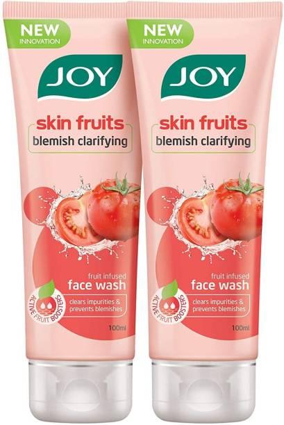 Joy Skin Fruits Blemish Clarifying Tomato Face Wash