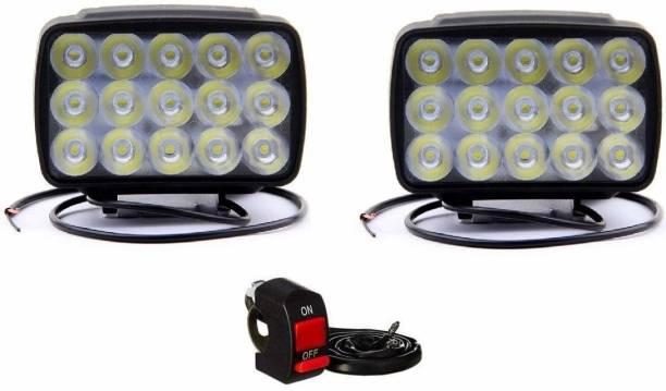 Silver magnate LED Fog Lamp Unit for Hero I3