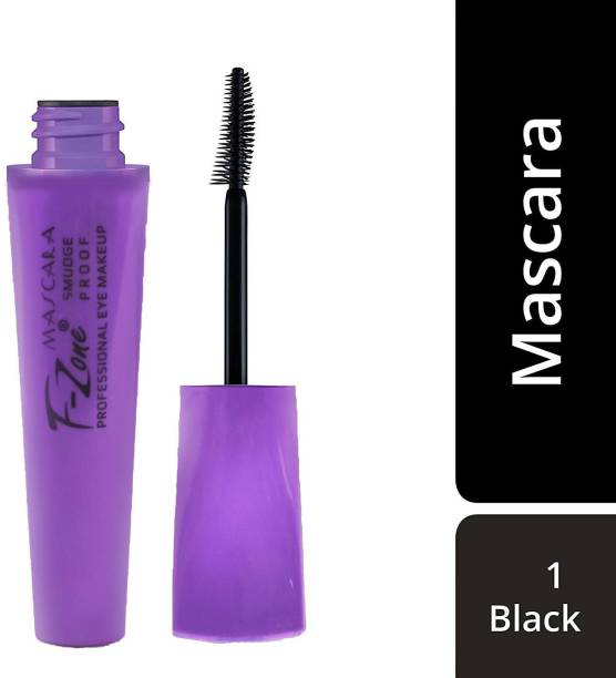 F-Zone Water Proof And Smudge Proof Professional Mascara 01 8 ml