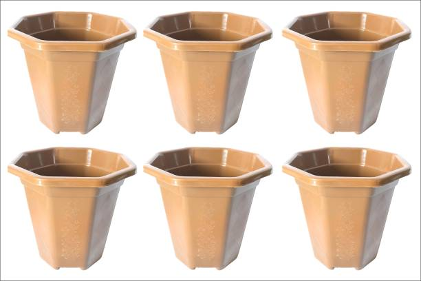 Shree enterpriseee Heavy duty plastic pot for home and office Plant Container Set