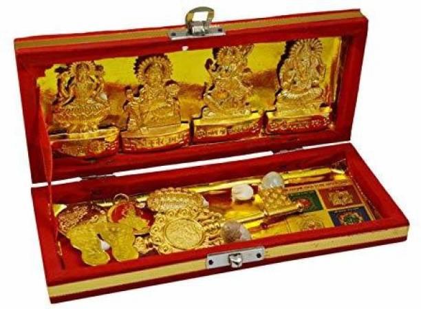 Lakshita Enterprises SHRI DHAN LAXMI YANTRA medium Brass Yantra