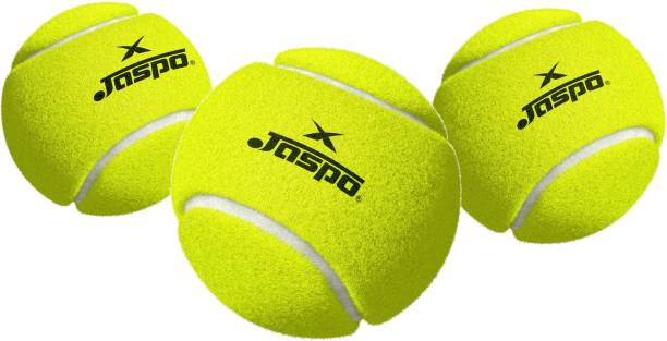 Jaspo Smasher Cricket Tennis Ball Lite (Neon Green, Pack of 3) Cricket Tennis Ball