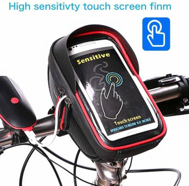 SHRI BICYCLES Water proof Mobile bag Bicycle Phone Holder