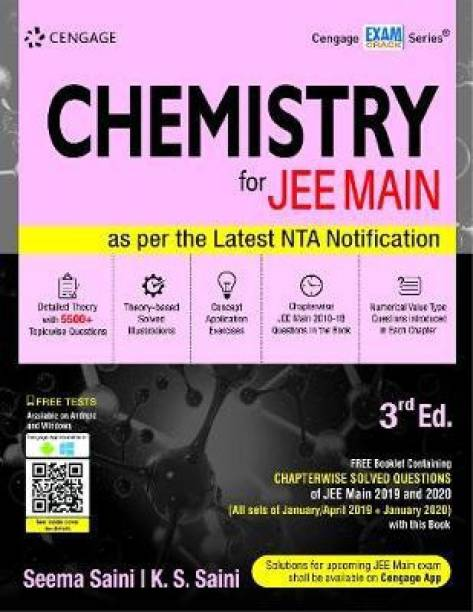 Chemistry for Jee Main Third Edition