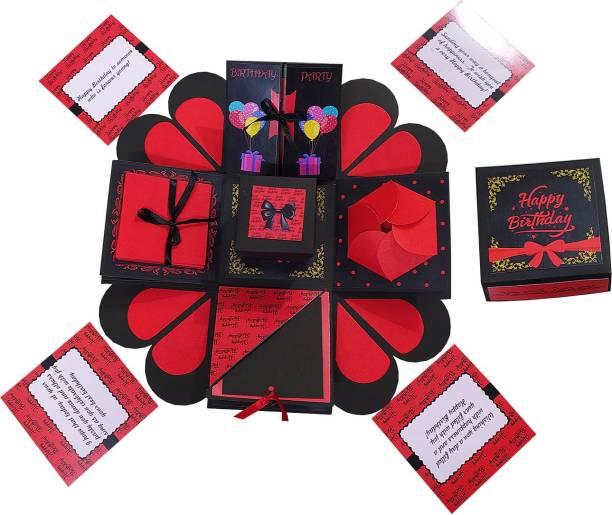 Easycraftz Ultimate Birthday Explosion Box Greeting Card