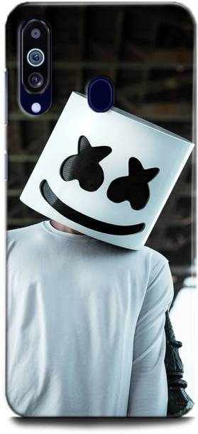 INDICRAFT Back Cover for Samsung Galaxy M40 MARSHMELLO, DJ, EDM, MUSIC, SMILEY, FUNNY