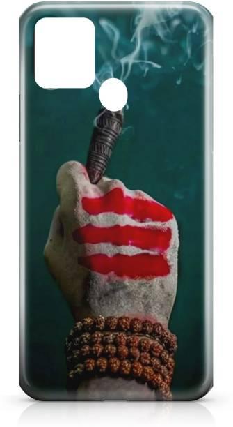 Accezory Back Cover for Infinix Hot 10-GOD-KRISHNA-GANESH JI-SHIV JI-BACK CASE