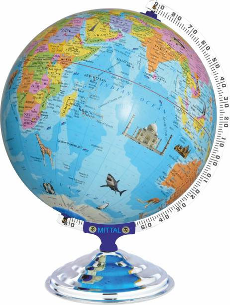 MITTAL 12012_WM1 Desk & Table Top POLITICAL World Globe