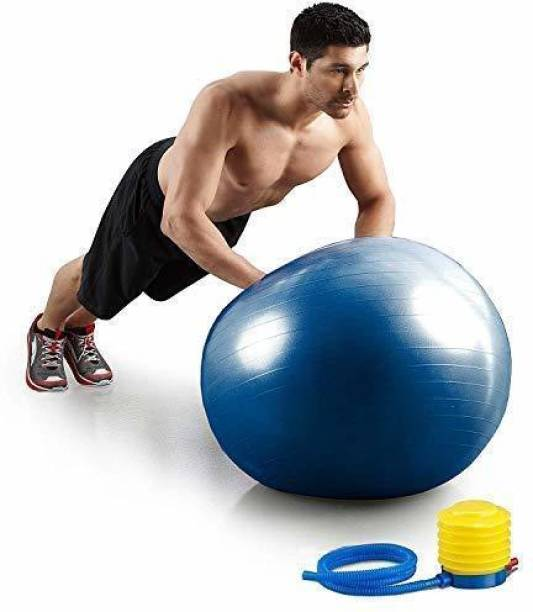 DITCAFOS Exercise Printed Heavy Duty Non-Slip Stability Anti Burst Commercial Gym Ball Gym Ball