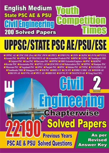 UPPSC State PSC PSU ESE Assistant Civil Engineering Chapter-Wise Solved Papers Vol 2