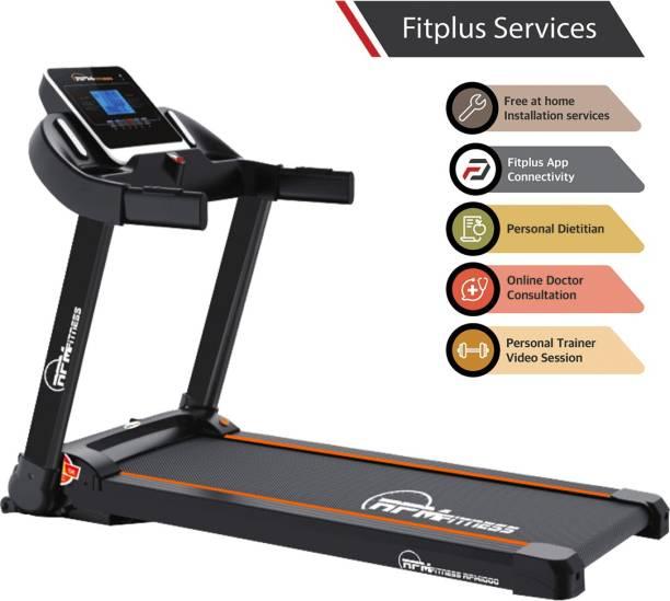 RPM Fitness RPM1000 2 HP Peak Motorized with Free installation Treadmill