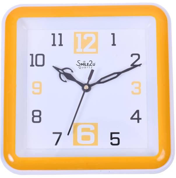 Smile2u Retailers Analog 20.5 cm X 20.5 cm Wall Clock