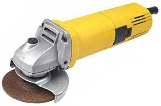 RUNEX RX-8801 Angle Grinder 4 Inch/900W Grinding Machine (Yellow) Angle Grinder